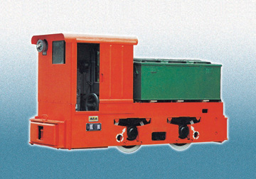 5T explosion-proof electric locomotive with resistance control and chopping speed control