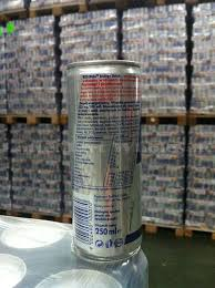 Redbull Energy Drink with English Label