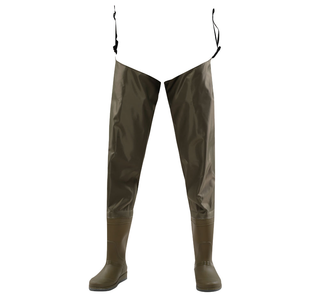70D nylon light weight hip PVC fishing hip waders