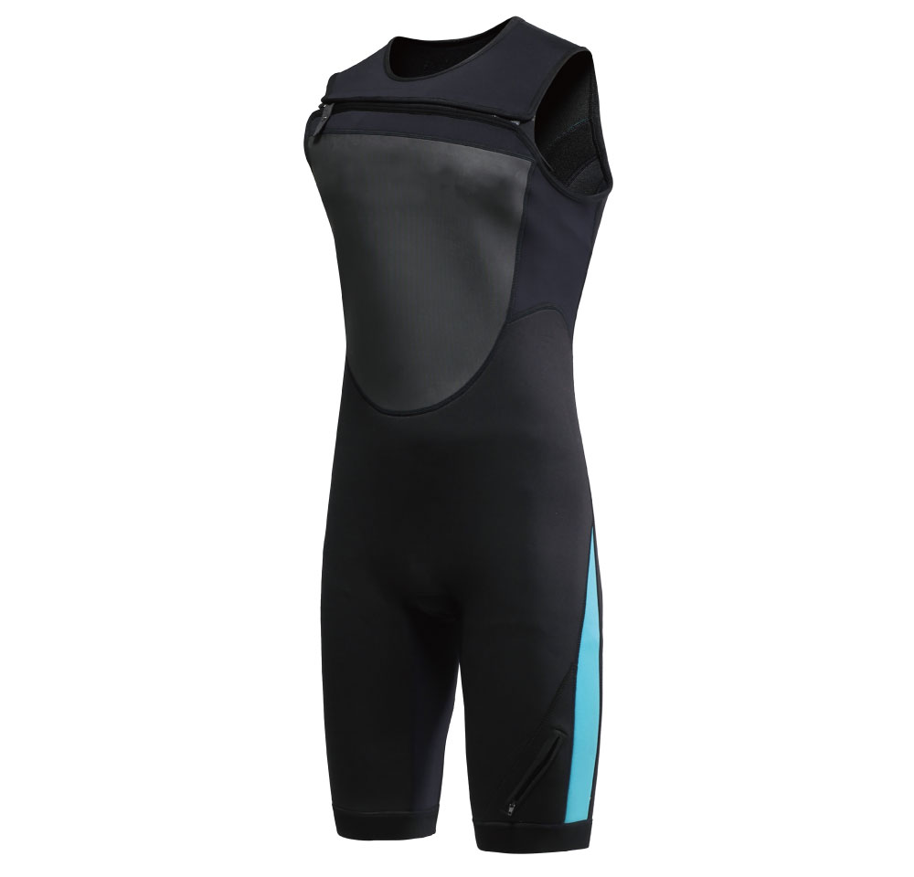 3mm  shorty without sleeve super stretch diving and surfing neoprene wetsuit