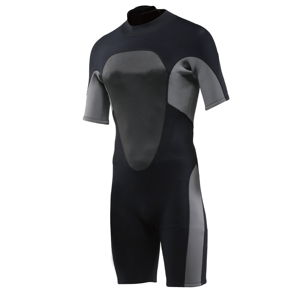 3mm shorty diving and surfing neoprene wetsuit