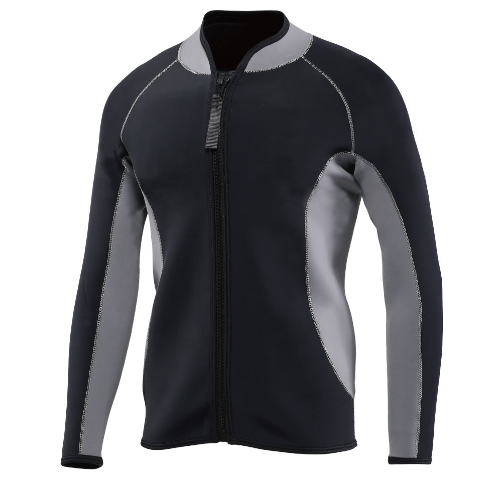 4mm neoprene top jacket wetsuit for swimming