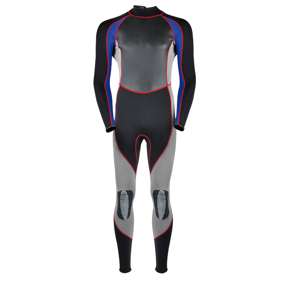3.0mm fullsuit snorkeling suit scuba diving suit neoprene wetsuit for men