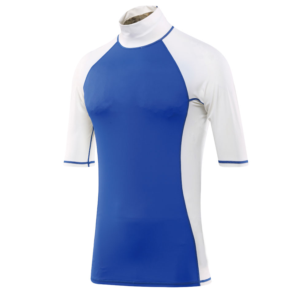short sleeve tight style unti UV men lycra rash guard
