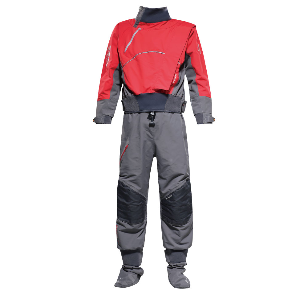 3 layer breathable and waterproof full kayak paddling whitewater drysuit