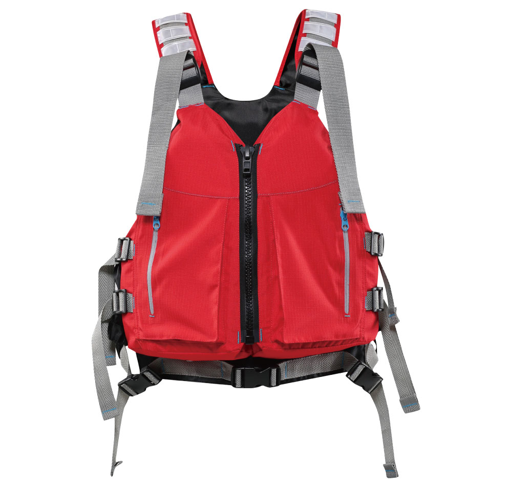 nylon PVC foam buoyancy life paddle vest PFD for kayak and sailing