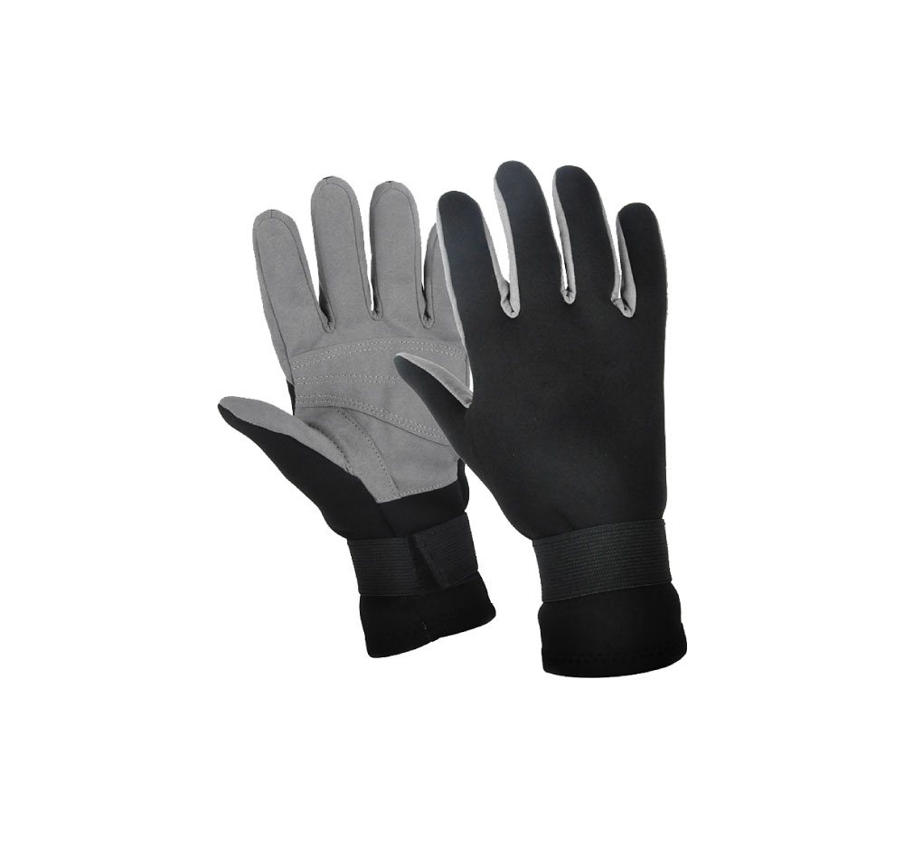 2.0mm surfing diving neoprene gloves with plam amara fabric
