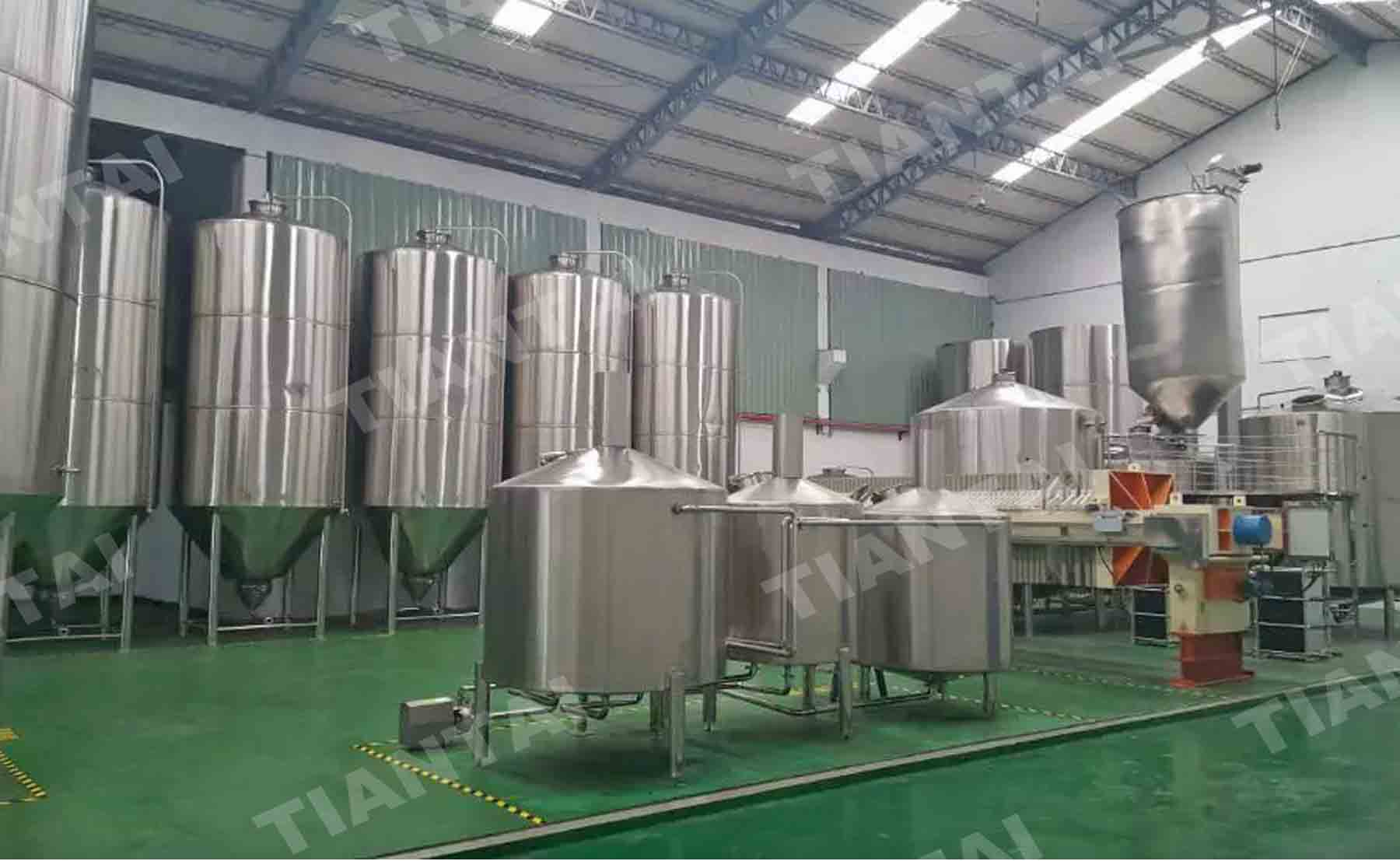 20000L double wall conical Fermenter