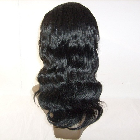 Wholesale Factory Unprocessed Virgin Remy Body Wave Human Hair Full Lace Wig With Baby Hair