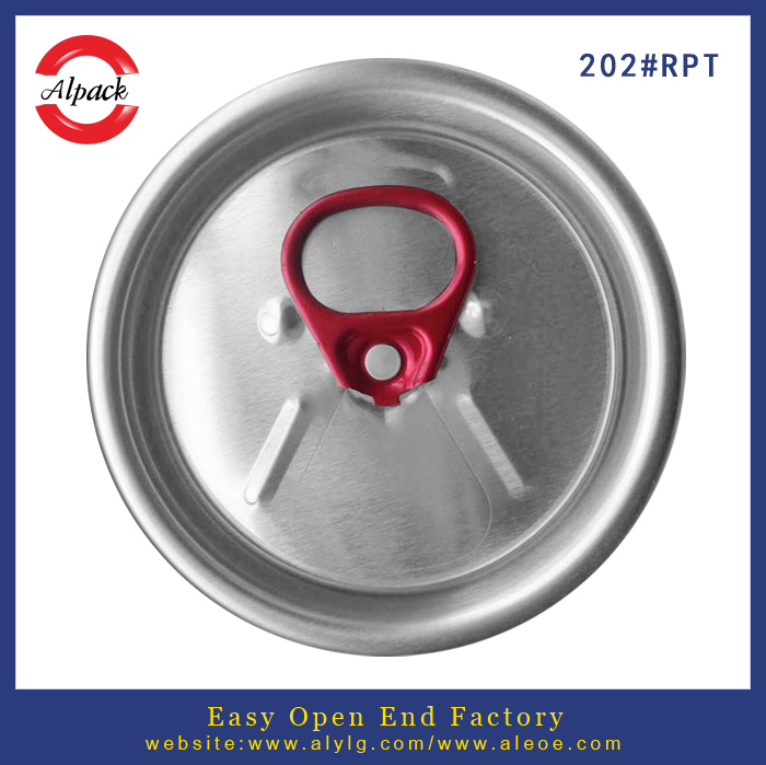 202# beverage easy open can lid