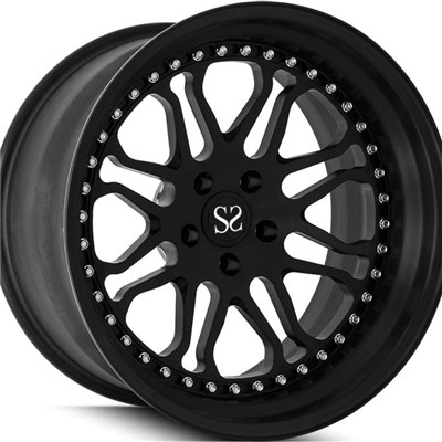 Matt Black 2 Piece Forged Wheels