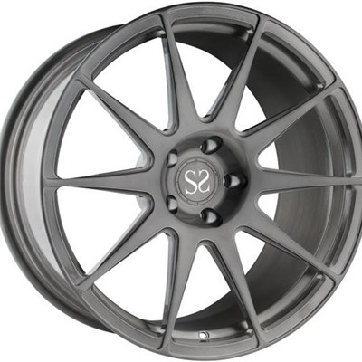 Gloss Black Forged Monoblock Wheel Rims
