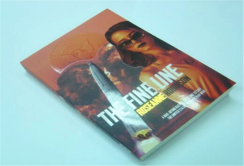Cheap full color book printing with gold on over Paperback book printing