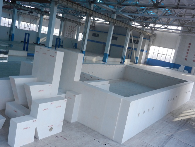 fused cast AZS-33 void free casting blocks,AZS-AC-33WS,ER1681RT,RTD,DCL,S-3VF,Zirkosit S32 KLP