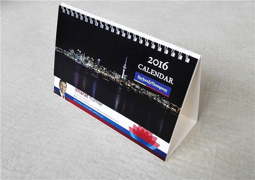 Cheap desktop/table calendar printing producer in china
