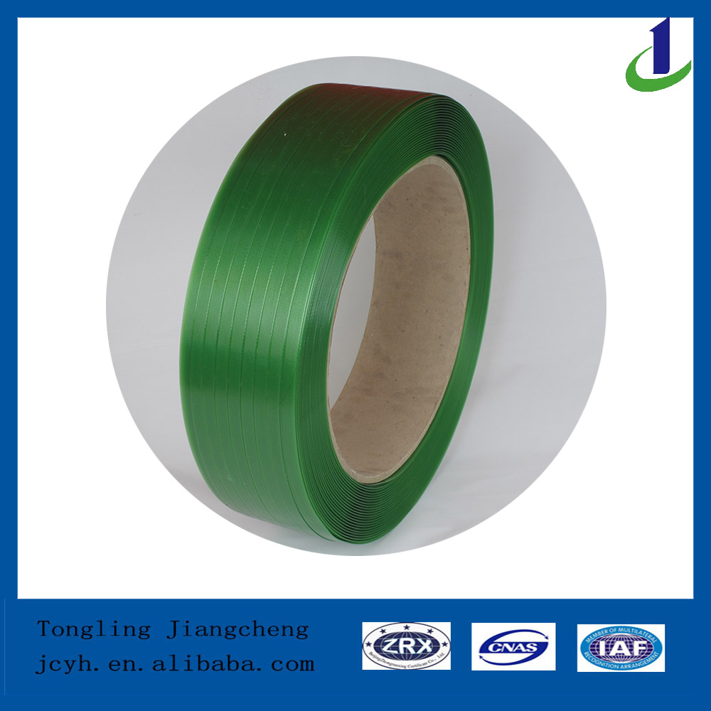 Green PET strap pet strapping band polyester strap
