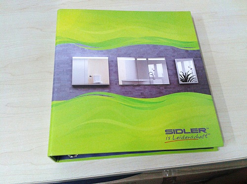 Cheap binder printing for brochures company in china