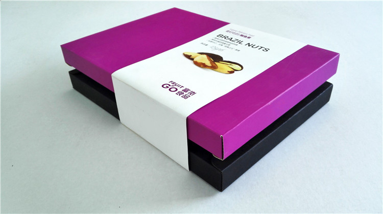 High quality full Color Cheap Paper box printing service in China