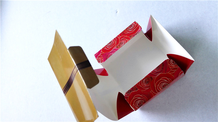 Cake packaging box printing take out window box printing paper cake box printing