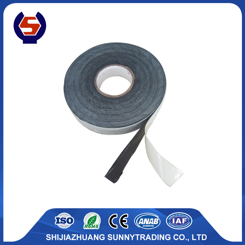 high voltage self fusing rubber tape EPR with size 19x9.1mx0.76 mm