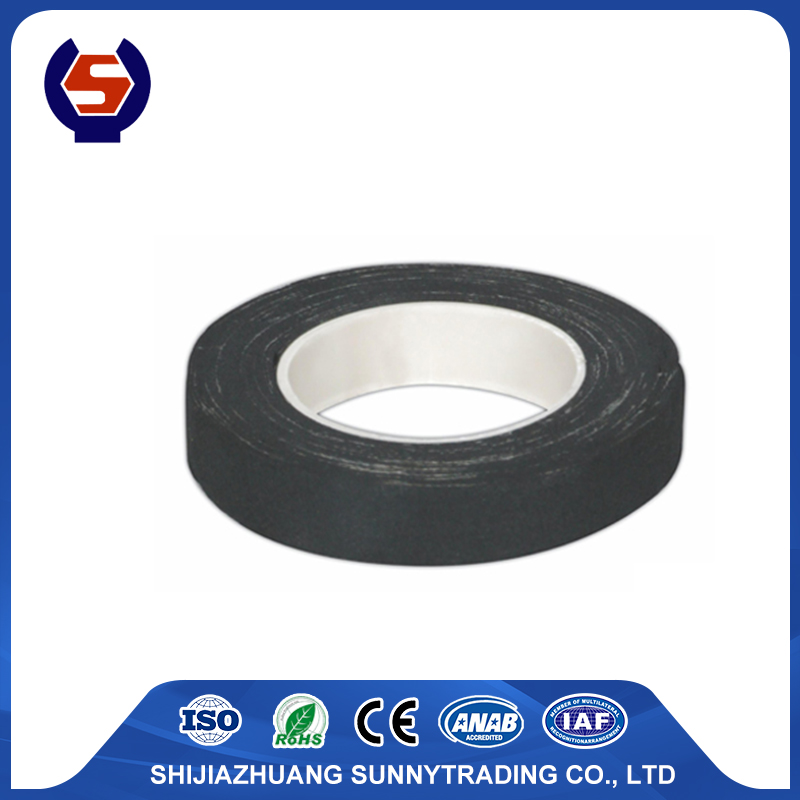 0.38mm thickness friction tape of rubber adhesive