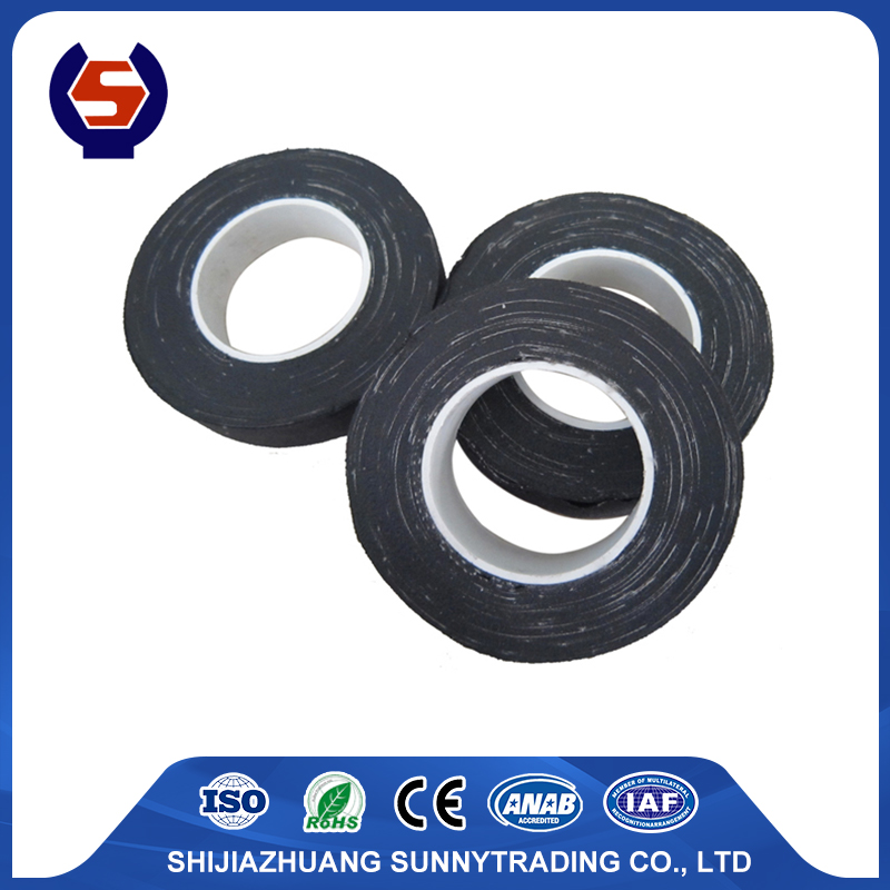 Black Fabric Insulation Cloth Tape for Russia Market