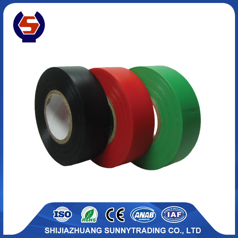 Shiny film rubber adhesive Pvc tape