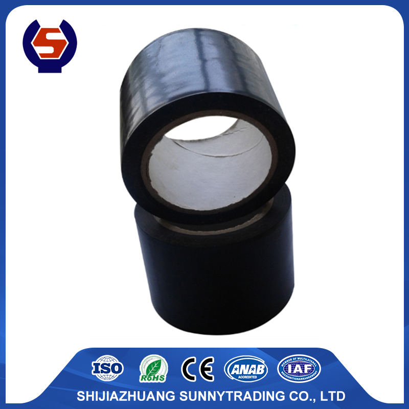 single sided grey matt black pvc duct tape
