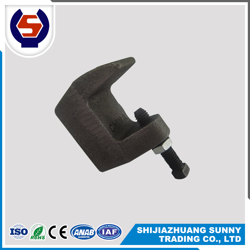 Hot dip malleable iron Channel beam clamp
