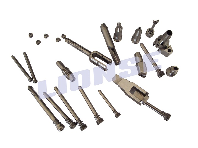 titanium dental pins used for surgical implants