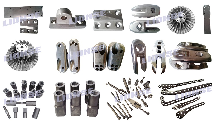 investment mould casting titanium out door equipments