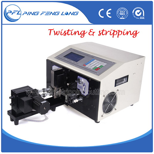 PFL-06 Automatic computer wire stripping and cutting and twisting machine