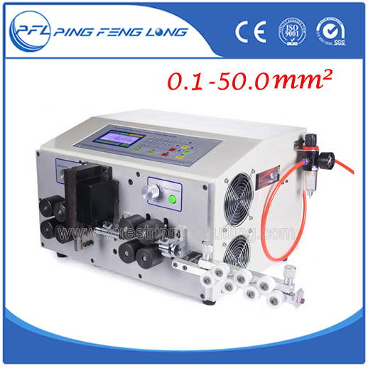 PFL-04XL Fully automatic pneumatic wire strip machine for heavy wires