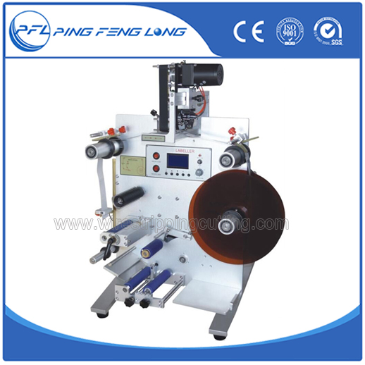 PFL30A Automatic Round Bottle Labeling And Dates Printer Machine