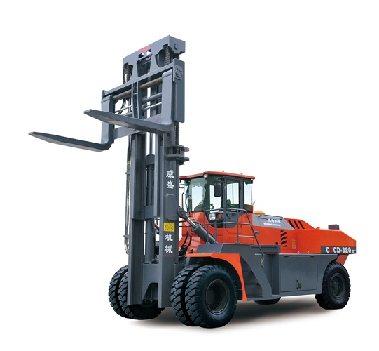 container forklift handler with 20-30 ton lifting capacity with CE for sale