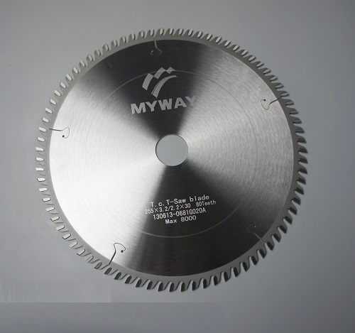 Best tungsten carbide tipped circular saw blade for slitting wood laminates and MDF