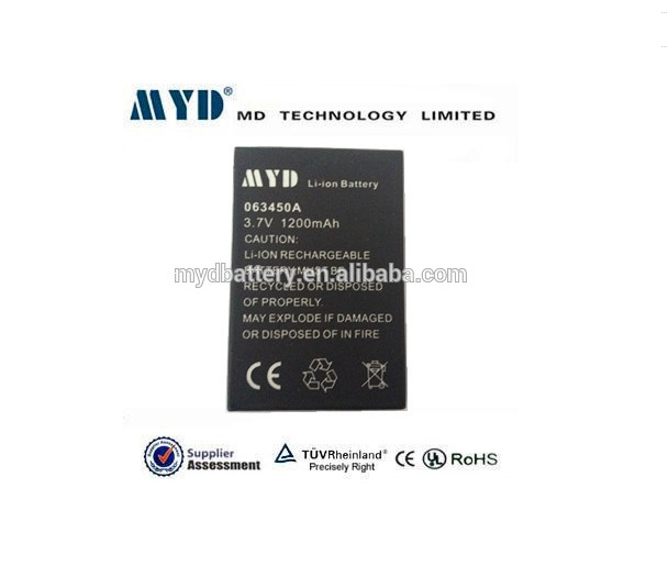 hot sale myd li-ion battery 3.7v 063450a