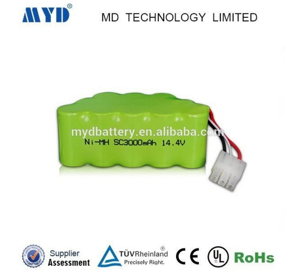 14.4V Ni-MH Battery/SC 14.4V Battery/3000mAh 14.4V Ni-MH Battery