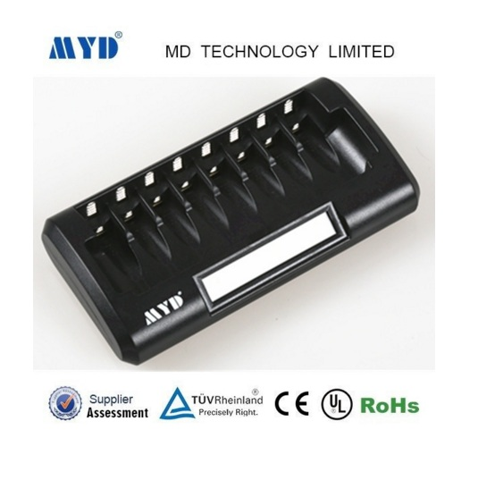8 slots battery charger