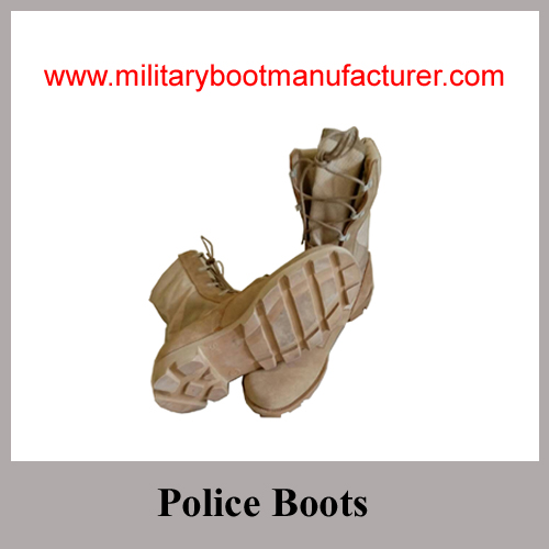 Wholesale China Made Full Grain Cow Suede Military Desert DMS Boot