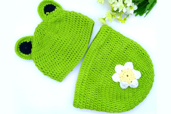 Pure Hand Baby Set Cotton Crochet Newborn Photo Props Knitted Animal Suits