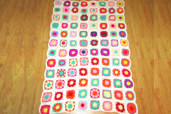 Wholesale China Cotton Blanket Crochet Baby Blanket Patterns 100% Handmade