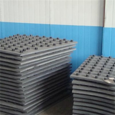 High Chrome Cast Steel Well Machined High Strength Liner For Ball Mill