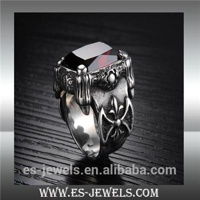 Fashion Style Big Ring Punk Jewelry Ring GJ430
