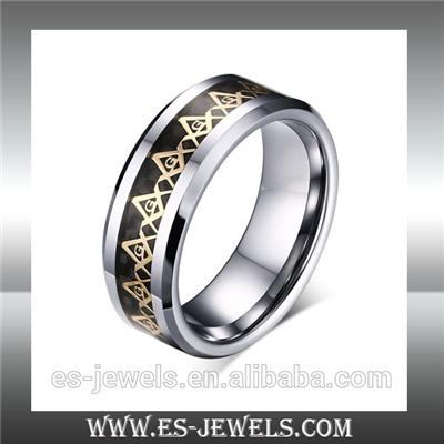 Factory Wholesale High Quality 8mm Tungsten Ring Jewelry ESTR01