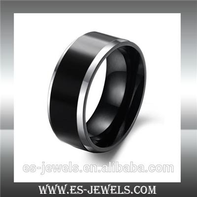 Fashion Jewelry Black Tungsten Rings WJ231