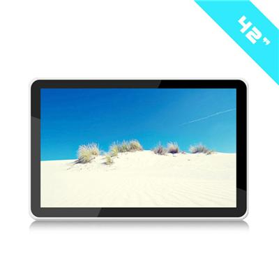 42 Inch Wall Mounted Digital Signage LCD Video Media Player For Advertising