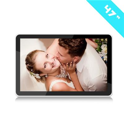 47 Inch IR Touch Screen Win 7 All In One PC Computer LCD Advertising Player Screen Display WALL Digital Signage For Stations