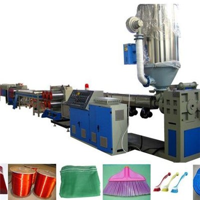 Plastic Brush Filament Extrusion Line