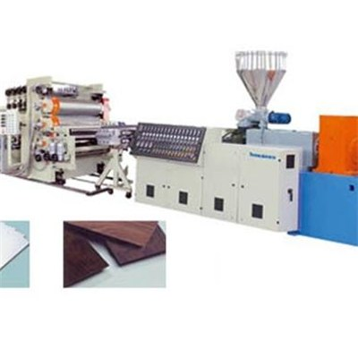 PVC Free Foam Advertisement Board Machine